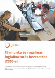 JC360 Távmunka és rugalmas foglalkoztatás bevezetése