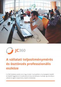 JC360 Vállalati teljesítménymérés és ösztönzés professzionális eszköze